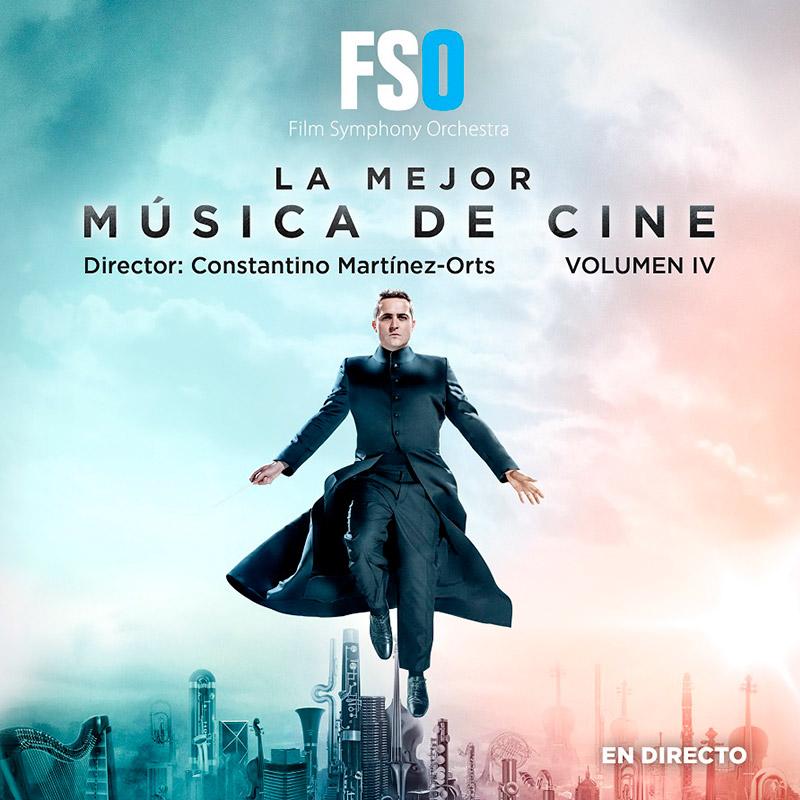 CD La mejor música de Cine Volumen 4