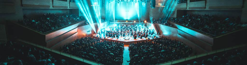 Concierto en Bacerlona de la film symphony orchestra